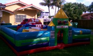 rescue hero toddler bounce house rentals